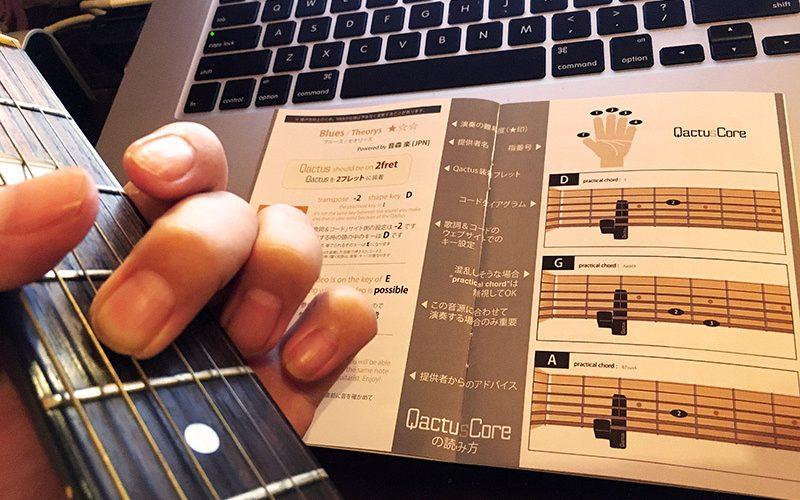 Qactus カクタス ギター リハビリ 障がい ハンディキャップ