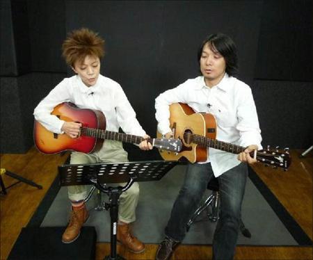 NHK・Eテレ、レギュラー番組収録の様子。パートナーの兵藤ゆきさんと
