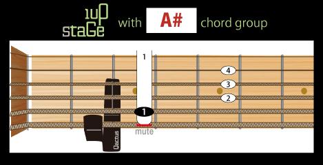 カクタスのギターダイアグラム2