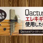 カクタスを「エレキギター用」にチューンナップする方法(※非公認)